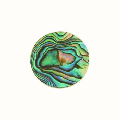 MY iMenso Flat Abalone Insignia 24mm 24-0734