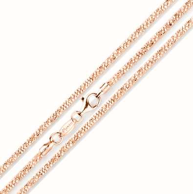 MY iMenso Margherita 50cm Necklace (925/Rosegold-Plated) E 27-0032-50