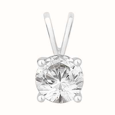 Perfection Swarovski Single Stone Four Claw Pendant (1.00ct) P0100-SK