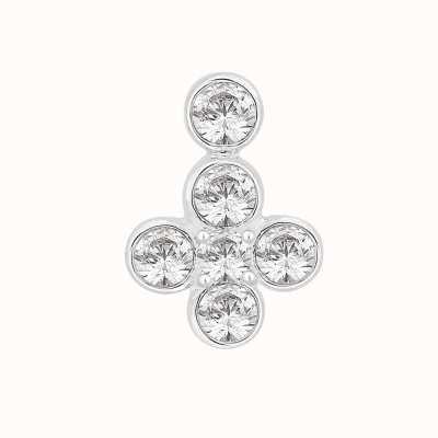Perfection Swarovski Fancy Six Stone Rubover Pendant (0.60ct) P5523-SK