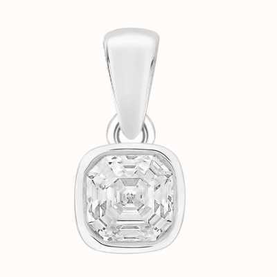 Perfection Swarovski Single Stone Rubover Imperial Mosaic Pendant (1.50ct) P5672-SK