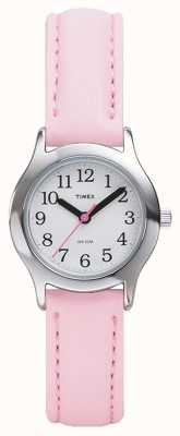 Timex Womens/Kids Pink Strap Watch T79081