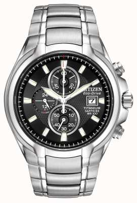 Citizen Mens Eco-Drive Titanium CA0260-52E