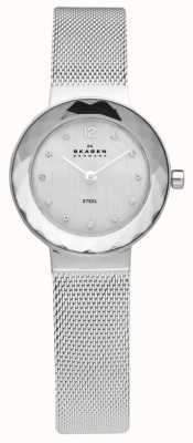 Skagen Womens Steel Mesh Bracelet Watch 456SSS