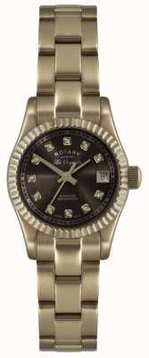 Rotary Womens' Rose Gold Les Originales Verbier Watch EX-DISPLAY LB08153/16EX-DISPLAY