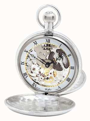 Woodford Silver Twin Lid Pocketwatch With Albert Chain 1066