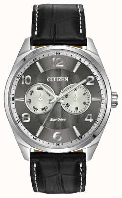 Citizen Mens Stainless Steel Grey Dial Watch AO9020-17H