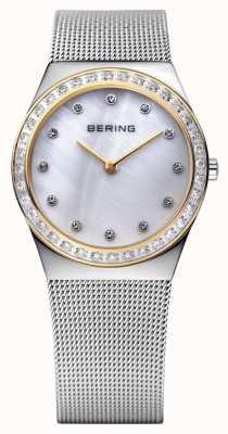Bering Stone Encrusted Ultra Slim Watch 12430-010