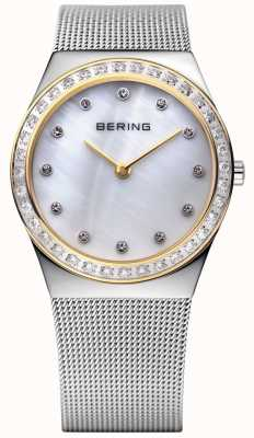 Bering Stone Encrusted Ultra Slim Watch 12430-010