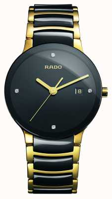 Rado | Centrix Diamonds | High-Tech Ceramic | Black Dial | R30929712