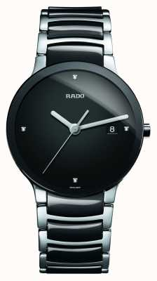 Rado Centrix Diamonds High-Tech Ceramic Black Dial Watch R30934712