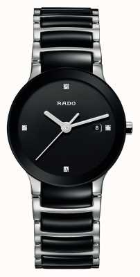 Rado | Centrix Diamonds | High-Tech Ceramic | Black Dial | R30935712