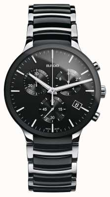 Rado | Centrix Chronograph | High-Tech Ceramic | Black Dial R30130152