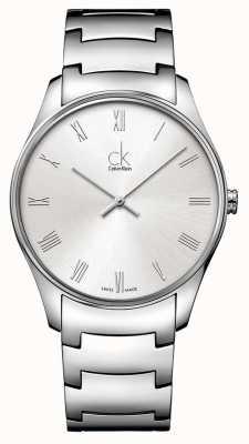 Calvin Klein Mens Classic Silver Watch K4D2114Z