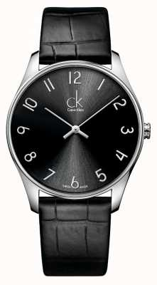 Calvin Klein Classic Leather Mens Watch K4D211CX