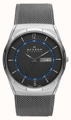 Skagen Mens Aktiv Grey Mesh Titanium Watch SKW6078