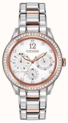 Citizen Womens Silhouette Crystal Watch FD2016-51A