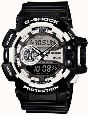 Casio Mens G-Shock Black Watch GA-400-1AER