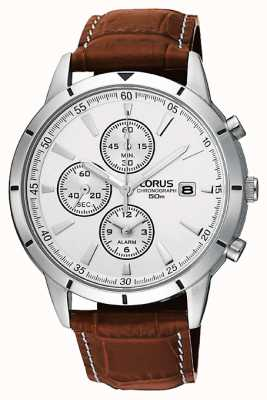 Lorus Mens Chronograph Alarm Strap Watch RF325BX9