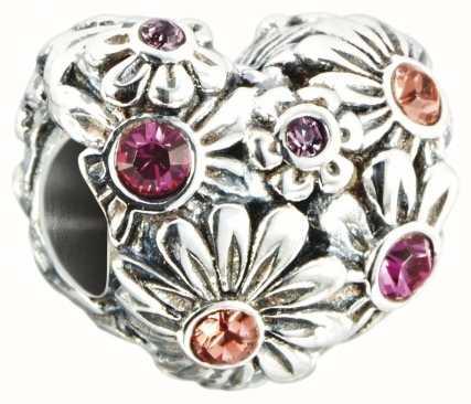 Chamilia Zinnia Jeweled Heart Charm 2025-1323