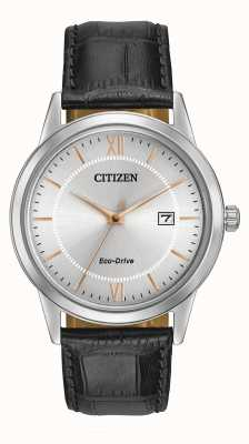 Citizen Mens Strap Eco-Drive Watch AW1236-03A