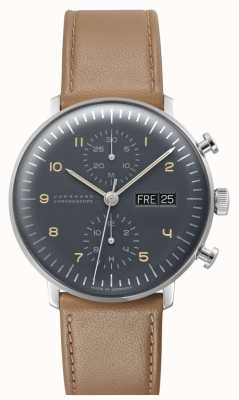 Junghans Max Bill Chronoscope (English Date) 027/4501.01