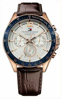 Tommy Hilfiger Gent's Luke Rose Tone Watch 1791118