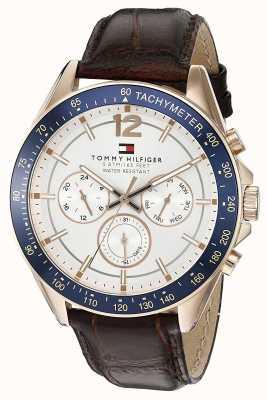 Tommy Hilfiger Gent's Luke Rose Tone Watch 1791118