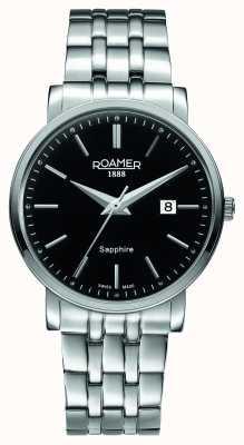 Roamer Classic Line | Stainless Steel Bracelet | Black Dial 709856 41 55 70