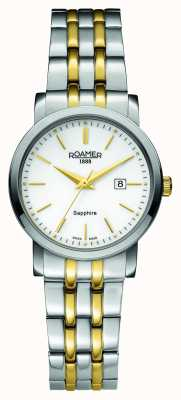 Roamer Classic Line | Two Tone Stainless Steel | white Dial 709844-47-25-70