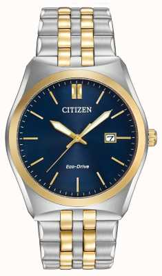 Citizen Mens Eco-Drive Corso WR100 Two Tone BM7334-58L
