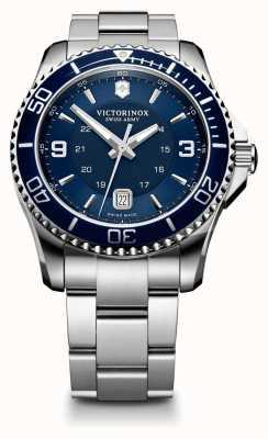 Victorinox Swiss Army Mens Maverick GS, Blue Dial Watch 241602