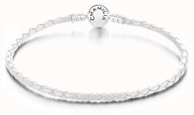 Chamilia White Braided Large bracelet 1030-0143