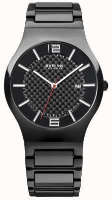 Bering Gents Black Ceramic Black Dial 31739-749