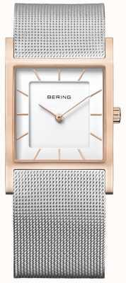 Bering Womens Stainless Steel Mesh Bracelet 10426-066-S