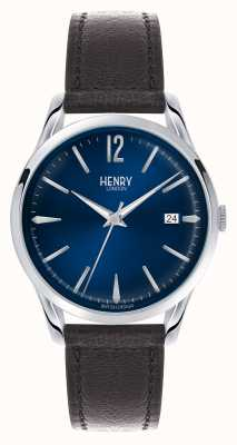 Henry London Knightsbridge Blue Dial - As Seen on TV HL39-S-0031
