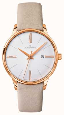 Junghans Ladies Meister Quartz Leather Strap 047/7570.00