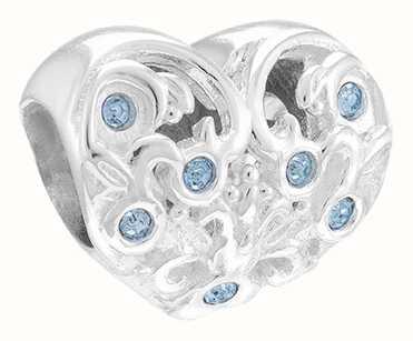 Chamilia 'Sisters' Heart Charm 2025-1680