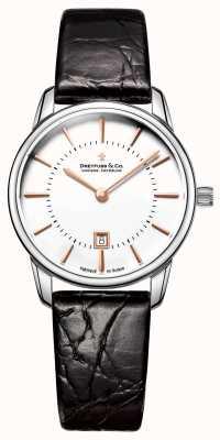 Dreyfuss womens 1980 leather watch DLS00135/01