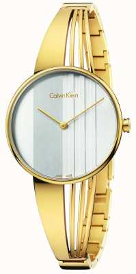 Calvin Klein Womens Drift Gold K6S2N516
