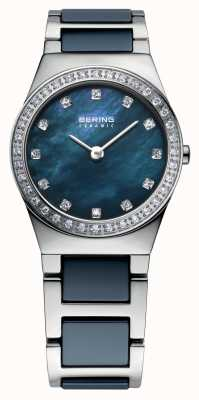 Bering Womens Navy Stainless Steel 32426-707