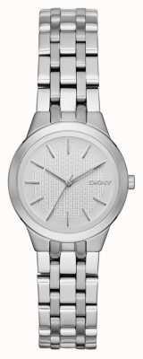 DKNY Park Slope Ladies Silver Watch NY2490