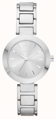DKNY Womans Silver Strap Silver Dial NY2398
