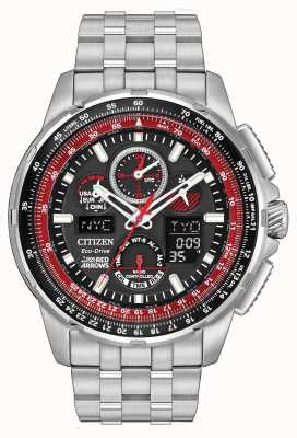 Citizen Radio Controlled Red Arrows Skyhawk A.T Stainless Steel JY8059-57E