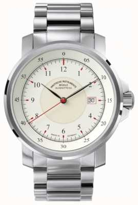 Muhle Glashutte M 29 Classic Stainless Steel Band Cream Dial M1-25-57-MB