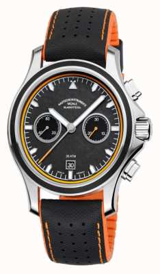 Muhle Glashutte ProMare Chronograph Synthetic Band Carbon Dial M1-42-04-NB