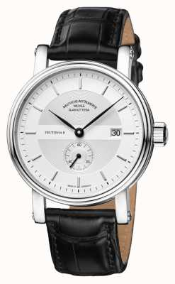 Muhle Glashutte Teutonia II Kleine Sekunde Leather Band Silver Dial M1-33-45-LB
