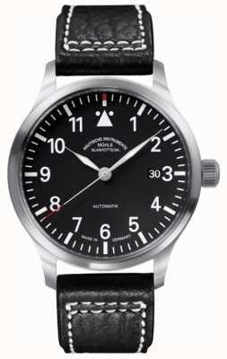 Muhle Glashutte Terrasport II Leather Band Black Dial M1-37-44-LB