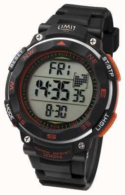 Limit Mens Sport Watch Black Strap 5485.01