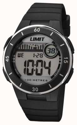Limit Unisex Black Strap Digital Dial 5556.24